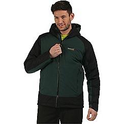Regatta - Dark green Grisedale hybrid waterproof jacket