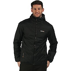 Regatta - Black Tuscan waterproof jacket