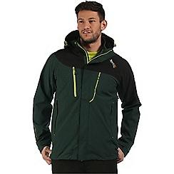Regatta - Green Sacramento 3 in 1 jacket