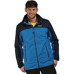 Regatta - Blue Backmoor 3 in 1 waterproof jacket