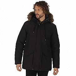 Regatta - Black 'Alarik' waterproof insulated jacket