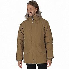 Regatta - Brown 'Salton' waterproof insulated jacket