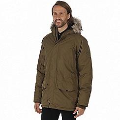 Regatta - Green 'Salton' waterproof insulated jacket