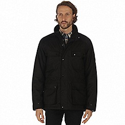 Regatta - Black 'Ellsworth' waterproof insulated jacket