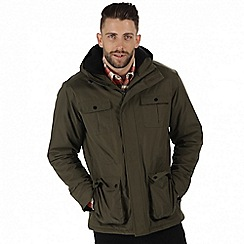 Regatta - Green 'Penley' waterproof insulated jacket