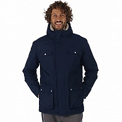 Regatta - Blue 'Penley' waterproof insulated jacket