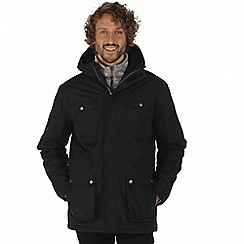 Regatta - Black 'Penley' waterproof insulated jacket