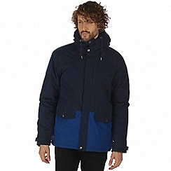 Regatta - Blue 'Sternway' waterproof insulated jacket