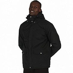 Regatta - Black 'Sternway' waterproof insulated jacket