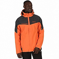 Regatta - Orange 'Sacramento' 3-in-1 jacket