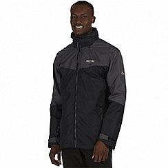 Regatta - Black 'Backmoor' 3-in-1 jacket