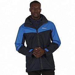 Regatta - Blue 'Backmoor' 3-in-1 jacket