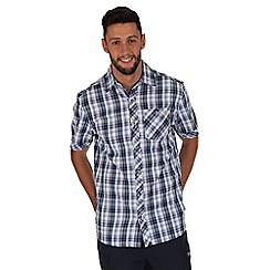 Regatta - Navy deakin checked shirt