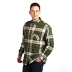 Regatta - Racing green lumbar sherpa shirt