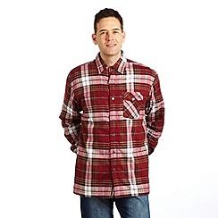 Regatta - Dk burgundy lumbar sherpa shirt