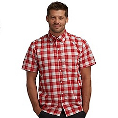 Regatta - Chilli pepper red breckenridge checked shirt