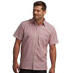 Regatta - Pepper shuksan short sleeved checked shirt