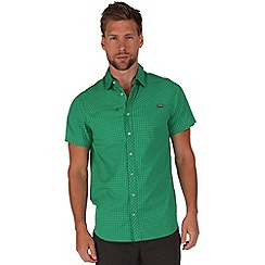 Regatta - Green honshu short sleeve shirt