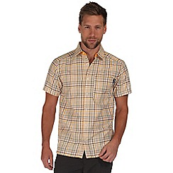 Regatta - Yellow kalambo short sleeve shirt