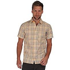 Regatta - Yellow kalambo short sleeve shirt