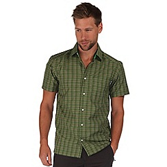 Regatta - Green mindano short sleeve shirt