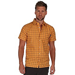 Regatta - Yellow mindano short sleeve shirt
