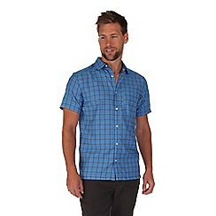 Regatta - Blue mindano short sleeve shirt