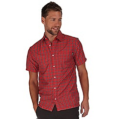 Regatta - Red mindano short sleeve shirt