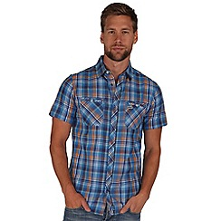 Regatta - Blue ryland short sleeve shirt