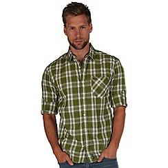 Regatta - Green brant cotton shirt