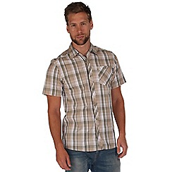 Regatta - Natural elkis checked shirt