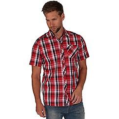 Regatta - Red elkis checked shirt