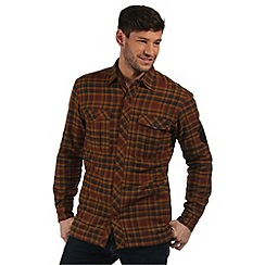 Regatta - Brown Tasman checked shirt