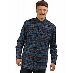 Regatta - Navy Tasman checked shirt