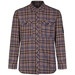 Regatta - Grey Tasman checked shirt