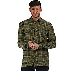Regatta - Green Tasman checked shirt