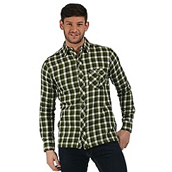 Regatta - Green Lazka checked shirt