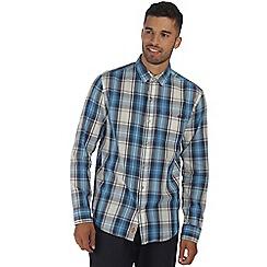 Regatta - Blue benas long sleeved shirt