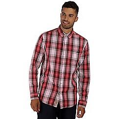 Regatta - Red benas long sleeved shirt