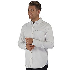 Regatta - White benas long sleeved shirt