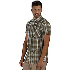 Regatta - Green efan short sleeved shirt