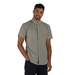 Regatta - Green randall short sleeved shirt