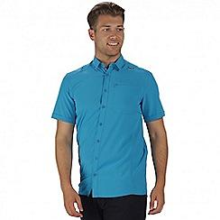 Regatta - Blue kioga short sleeved shirt