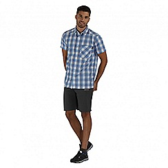 Regatta - Blue Kalambo short sleeved shirt