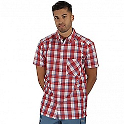 Regatta - Red Kalambo short sleeved shirt