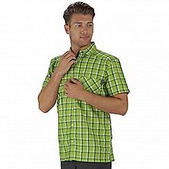 Regatta - Green mindano short sleeved shirt
