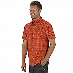 Regatta - Orange Honshu short sleeved shirt