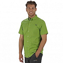 Regatta - Lime green Honshu short sleeved shirt