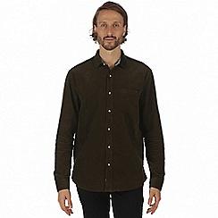 Regatta - Green 'Benton' long sleeve shirt