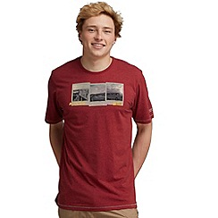 Regatta - Dark red orion t shirt